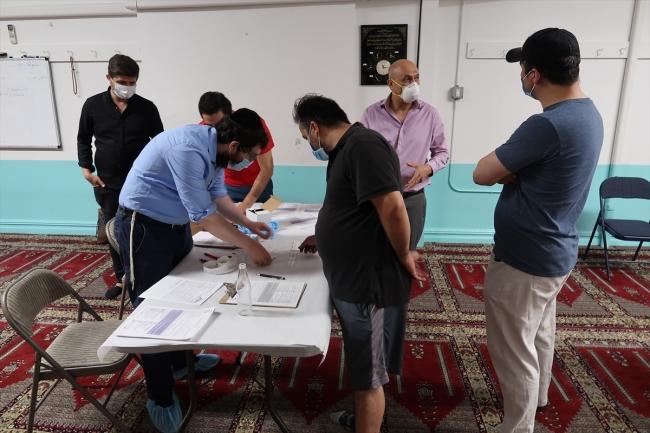 test(2) New York'taki Diyanet camisinde Türklere ücretsiz antikor testi 1