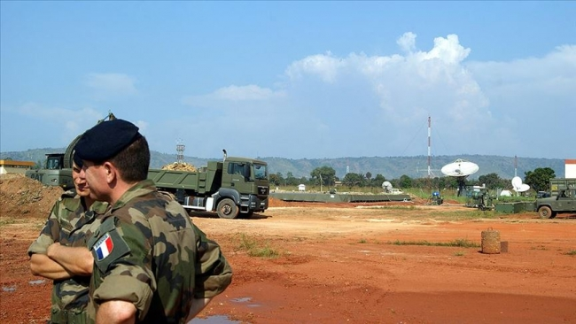 Fransız askeleri Mali'de. Fotoğraf: AA
