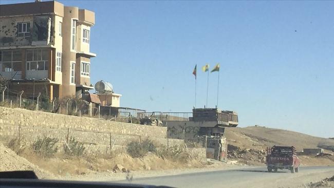 Terör örgütü PKK ve Haşdi Şabi varlığının devam ettiği Sincar. Fotoğraf: AA