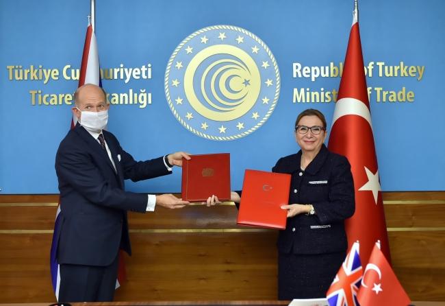 Türkiye ve Birleşik Krallık arasında serbest ticaret anlaşması geçtiğimiz aylarda imzalanmıştı.