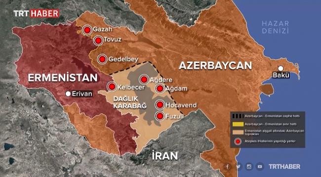 Azerbaycan-Ermenistan arasındaki 'Tovuz' krizinde son durum