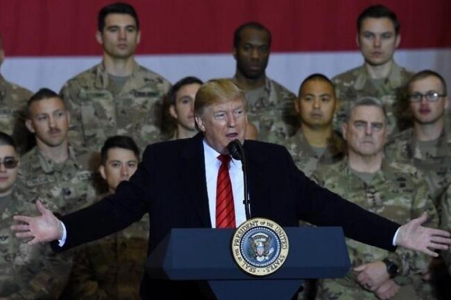 ABD Başkanı Trump, Kabil'deki Amerikan Üssü'nü ziyaretinde ülkedeki askerleri çok kısa sürede anavatanlarına döndüreceğini açıklamıştı.