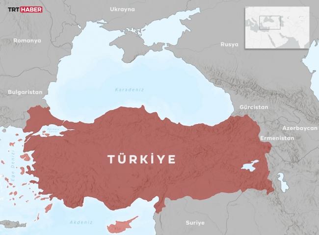 Harita: TRT Haber / Nursel Cobuloğlu
