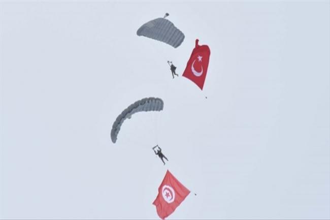 Türkiye ve Tunus'tan ortak tatbikat