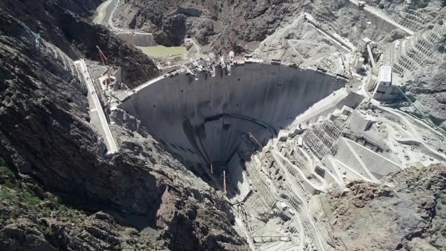 Türkiye'nin en yüksek barajı için geri sayım