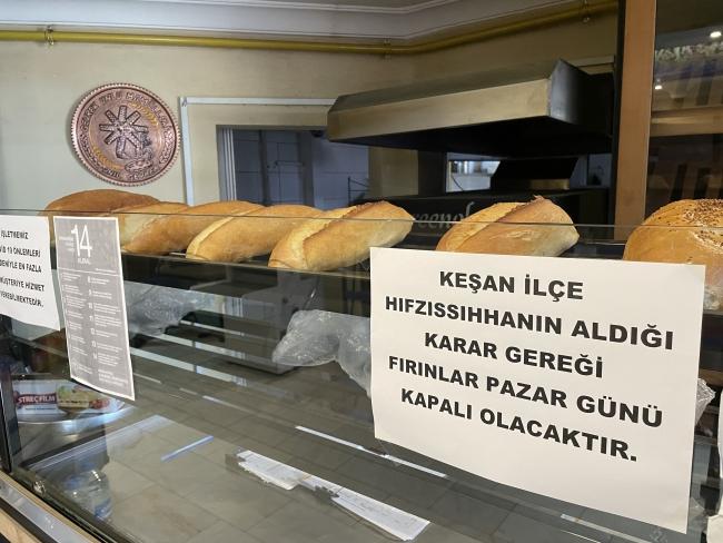 Ekmek alma bahanesi suistimal edilince, pazar günü ekmek satışı yasaklandı