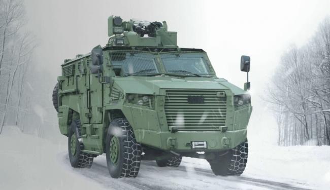 VURAN zırhlı aracı da Türkmenistan'a ihraç edilen savunma sanayii ürünleri arasında.