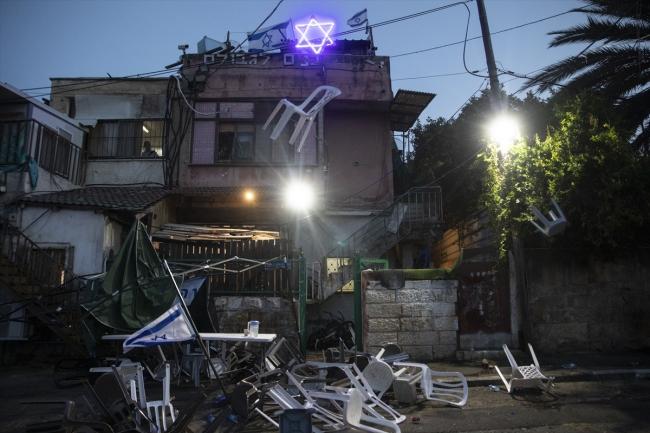 Yahudi yerleşimciler, iftar yapan Filistinlilere saldırdı