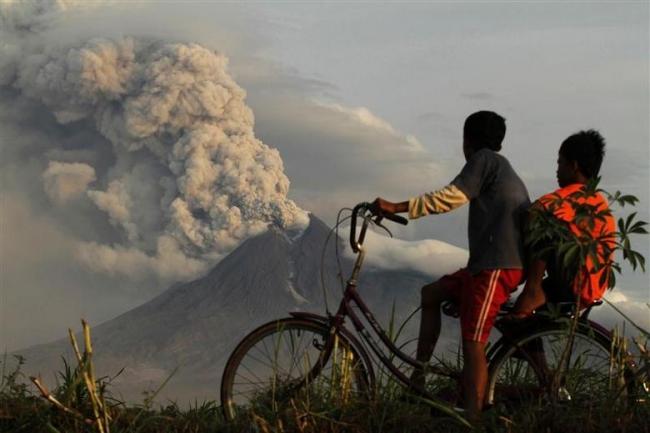 Merapi Yanardağı, 10 Kasım 2010 | Fotoğraf: Reuters