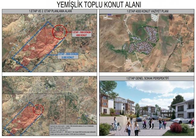 İşte deprem bölgesine yapılacak yeni konutlar